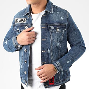 GRJ Denim - Veste Jean 14185 Bleu Denim