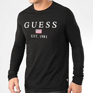Tee Shirt Manches Longues M01I70-J1300 Noir