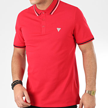 Polo Manches Courtes M01P40-K7O60 Rouge