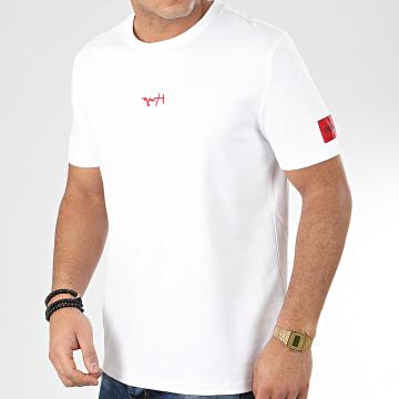 HUGO by Hugo Boss - Tee Shirt Reverse Logo Durned 201 50422082 Blanc