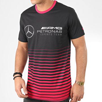 Tee Shirt Mercedes AMG Petronas 12361027 Noir Bordeaux