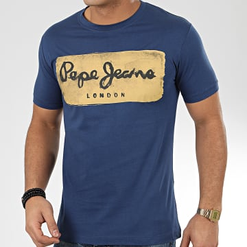 Tee Shirt Charing 503215 Bleu Marine