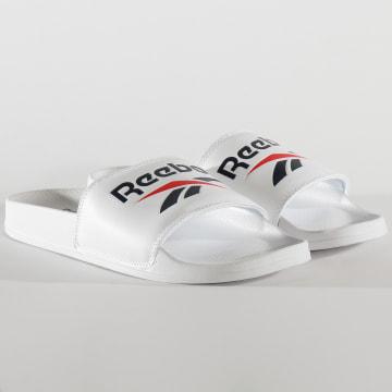 Reebok - Claquettes Classic Slide EH0668 White Collegiate Navy