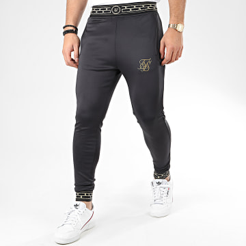 Pantalon Jogging Agility 14761 Noir Doré Réfléchissant