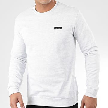 Teddy Smith - Sweat Crewneck Nark Gris Clair Chiné