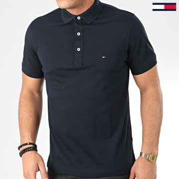 Tommy Hilfiger - Polo Manches Courtes Core Tommy 4975 Bleu Marine
