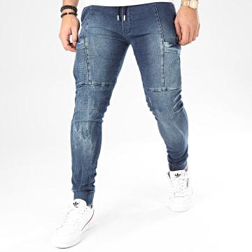 Uniplay - Jogger Pant Jean 170 Bleu Denim