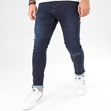 Uniplay - Jean Skinny 168 Bleu Brut
