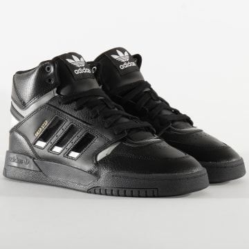 Baskets Drop Step EF7141 Core Black Silver Metallic Core Black