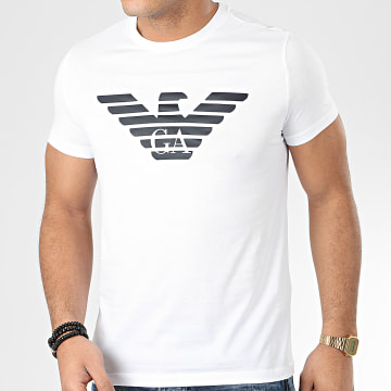 Emporio Armani - Tee Shirt 8N1T99-1JNQZ Blanc