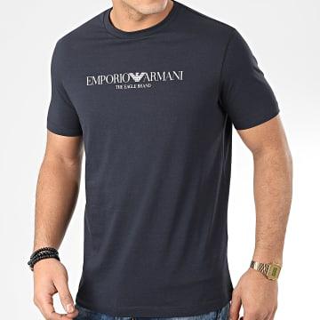 Emporio Armani - Tee Shirt 8N1T61-1J00Z Bleu Marine