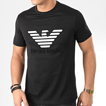 Emporio Armani - Tee Shirt 3H1T67-1J30Z Noir Argenté