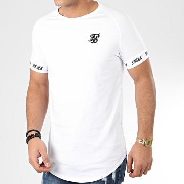 Tee Shirt Oversize Raglan Tech 17042 Blanc