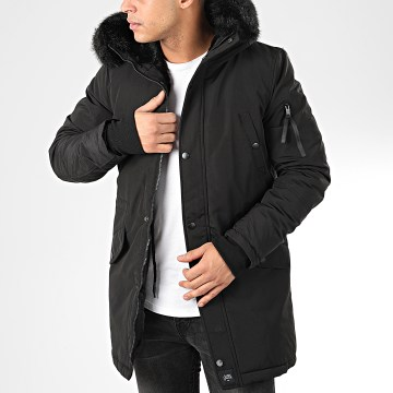 Sixth June - Parka Fourrure M3310SOW Noir