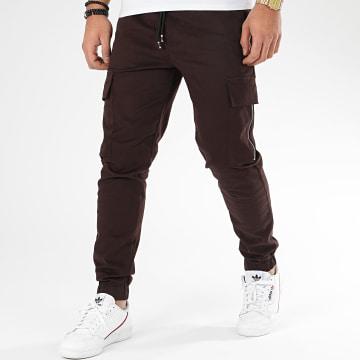 Pantalon Cargo 23782 Marron