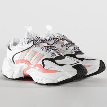 Adidas Originals - Baskets Femme Magmur Runner EG5435 Footwear White Grey One Glory Pink