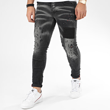 Classic Series - Jean Skinny DHZ-2925-1 Gris Anthracite