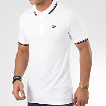 Jack And Jones - Polo Manches Courtes Noah Blanc