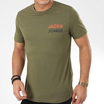 Jack And Jones - Tee Shirt Mills Vert Kaki