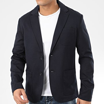 Only And Sons - Veste Blazer Mark Bleu Marine