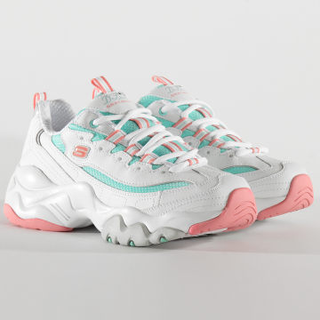 Baskets Femme D'Lites 3.0 Blast Full 12954 White Pink Mint