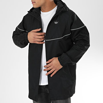 Adidas Originals - Veste Zippée Capuche Oversize Balanta 96 FM3878 Noir