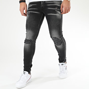 Classic Series - Jean Skinny DHZ-2912-1 Gris Anthracite