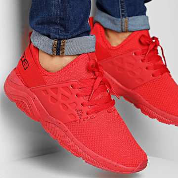 Kappa - Baskets Logo Sanantonio 304IGY0 Red True Black