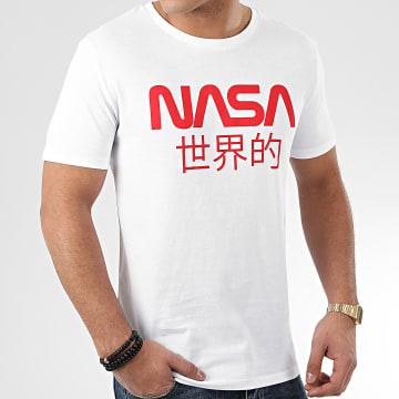 Tee Shirt Japan Logo Blanc Rouge