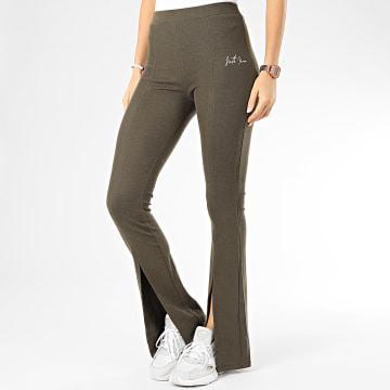 Pantalon Femme W4071KPA Vert Kaki