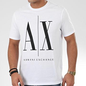 Tee Shirt 8NZTPA-ZJH4Z Blanc Noir
