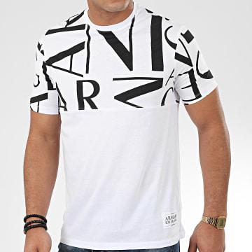 Tee Shirt 3HZTFB-ZJH4Z Blanc Noir