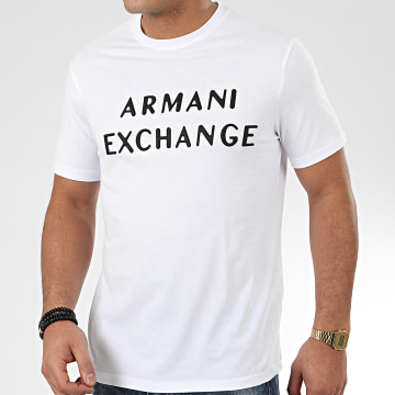 Tee Shirt 3HZTFA-ZJH4Z Blanc Noir