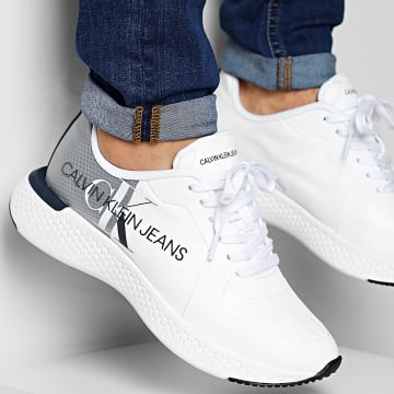Calvin Klein - Baskets Adamir Low top Lace Up B4S0649 White Navy