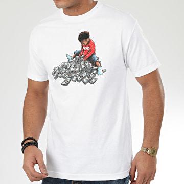 DGK - Tee Shirt Arithmetic Blanc