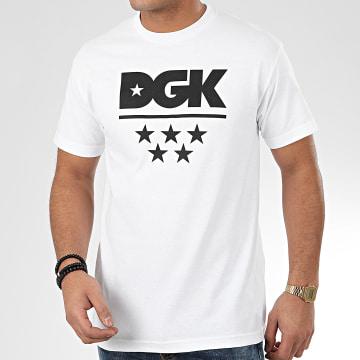 DGK - Tee Shirt All Star Blanc