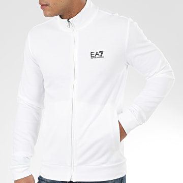 EA7 Emporio Armani - Veste Zippée 8NPM01-PJ05Z Blanc