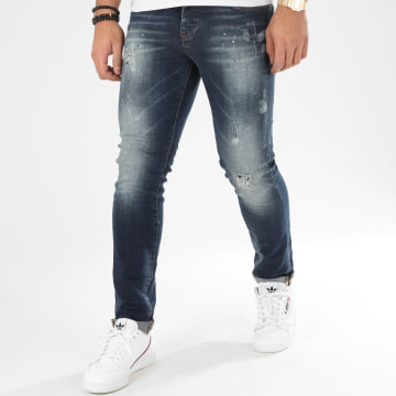 John H - Jean Slim 8922 Bleu Denim