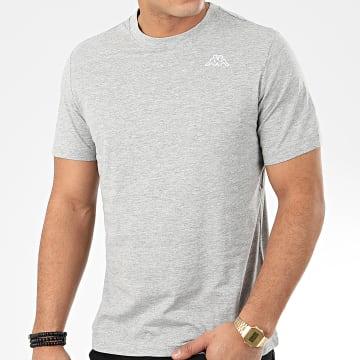 Kappa - Tee Shirt Logo Cafers 304J150 Gris Chiné