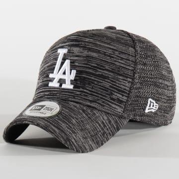 Casquette Baseball Los Angeles Dodgers Engineered Fit 11507705 Gris Noir Chiné