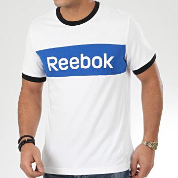 Reebok - Tee Shirt LL Blocked J4687 Blanc
