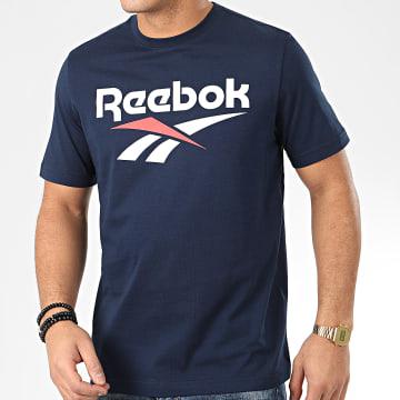 Reebok - Tee Shirt Classic F Vector FK2656 Bleu Marine