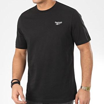 Reebok - Tee Shirt Classic F Small Vector FK2668 Noir