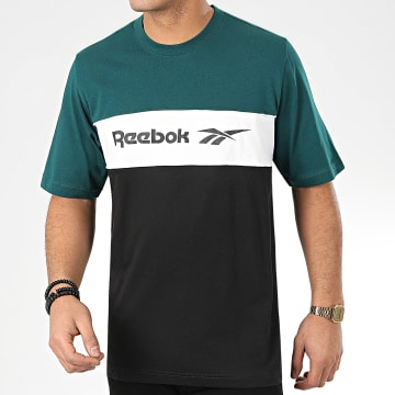 Reebok - Tee Shirt Classic F Linear FN2953 Vert Noir
