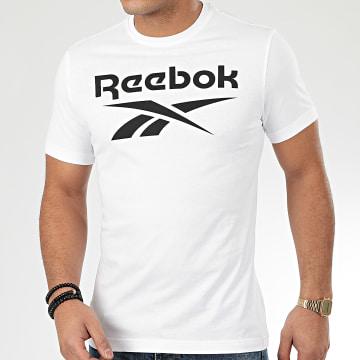 Reebok - Tee Shirt GS Stacked FP9152 Blanc
