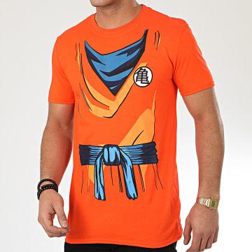 Dragon Ball Z - Tee Shirt Goku Costume Orange