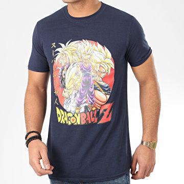 Tee Shirt Super Saiyans Bleu Marine