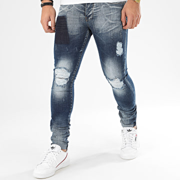 John H - Jean Slim 20-2006 Bleu Denim
