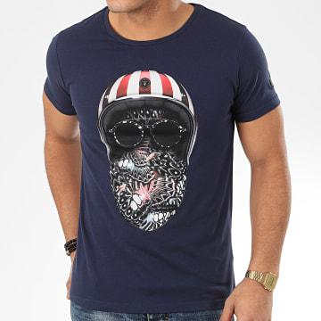 Tee Shirt Ibis Bleu Marine