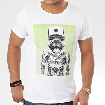 Tee Shirt Snoop Blanc
